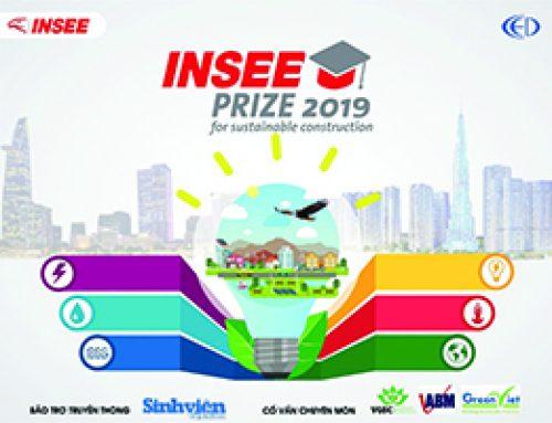 """Giải thưởng INSEE Prize 2019 dành cho các dự án """"Xây Dựng Bền Vững"""""""